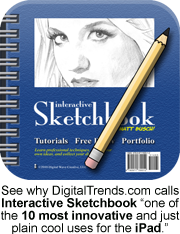 Picture of the sketchbook app icon